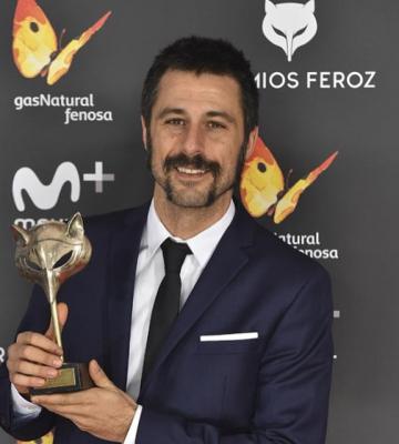 Hugo Silva, Premio Feroz 2017 al Mejor Actor de Reparto