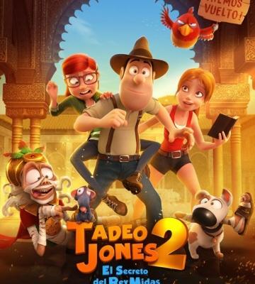 """El 25 de agosto se estrena """"Tadeo Jones 2. El Secreto del Rey Midas"""""""