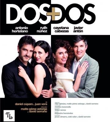 "Cayetana Cabezas protagoniza la obra teatral ""Dos + Dos"""