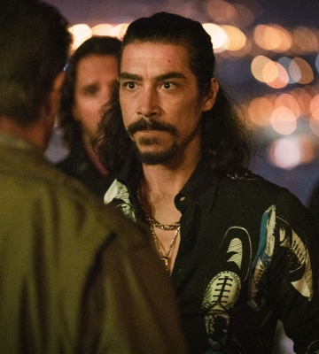 "Óscar Jaenada estrena ""Rambo V: Last Blood"""