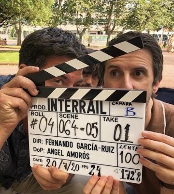 """""""INTERRAIL"""", UNA COMEDIA DE FER GARCÍA-RUIZ PROTAGONIZADA POR ERNESTO SEVILLA, JULIÁN LÓPEZ Y ARTURO VALLS."""