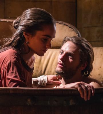 Alicia Sanz es la Infanta Urraca en la serie El Cid