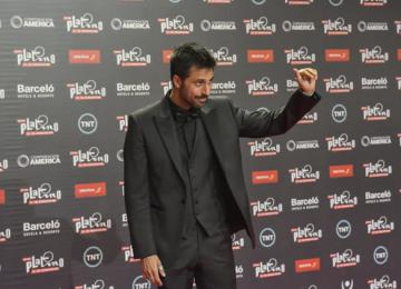 Hugo Silva en la III Gala de los Premios Platino