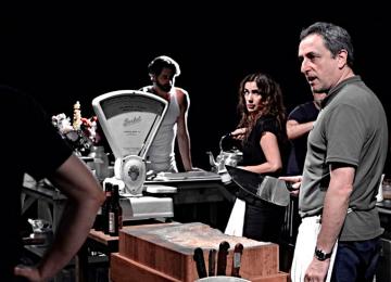 """Javier Tolosa en el reparto de """"La Cocina"""", dirigida por Segio Peris Mencheta"""