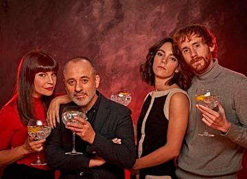 Daniel Pérez Prada, Javier Gutiérrez, Mónica Regueiro y Vicky Luengo estrenan 'Principiantes'
