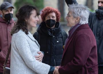 Comienza el rodaje de 'Maixabel', la nueva película de Icíar Bollaín, protagonizada por Blanca Portillo, Luis Tosar y Tamara Canosa