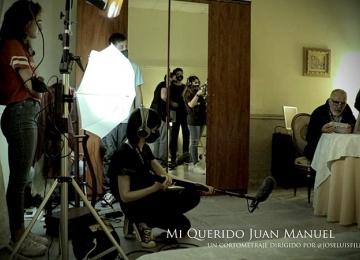 """Miguel Ángel Jenner protagoniza el cortometraje """"Mi querido Juan Manuel"""""""